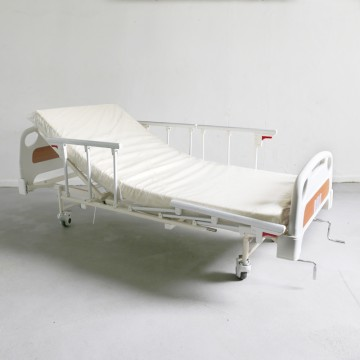 2 Crank Manual Split Hospital Bed