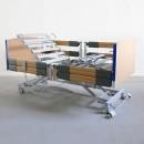 Practico Alu Plus Low Premium Nursing Bed, Split Side Rails