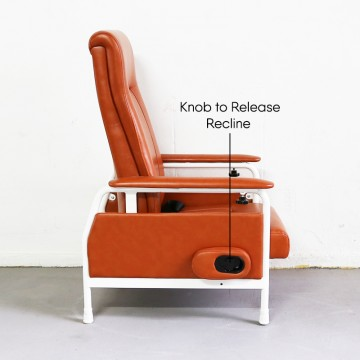 KW-S Reclining Geriatric Chair (Steel)