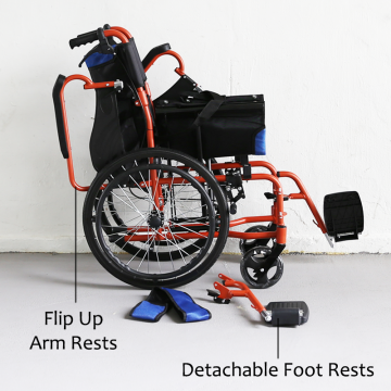 KY862-20 Lightweight Detachable Wheelchair
