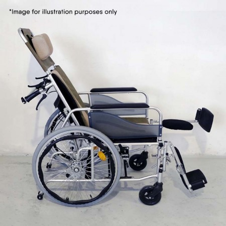 Monthly Rental - Wheelchair (Reclining Back)